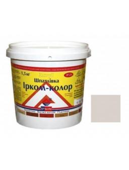 шпаклевка акриловая 1,5 кг ель Ирком