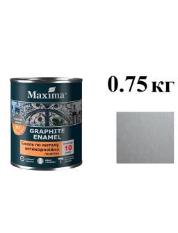 грунт-емаль антикор 0,75кг серебристая