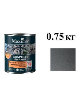 грунт-ємаль антикор 0,75кг черная