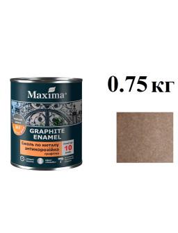 грунт-эмаль антикор 0,75кг Коричневая