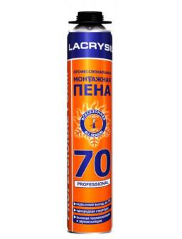 пена професиональная монтажная LACRYSIL 70л  850мл