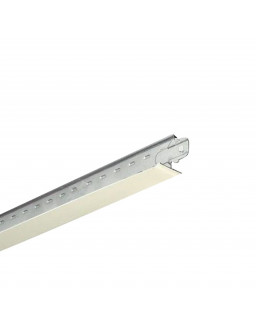 профиль поперечный белый мат 24/20 L 0,6м Alubest