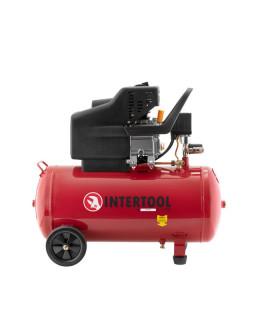 Компрессор 50 л, 1.5 кВт, 220 В, 8 атм, 206 л/мин. PT-0003