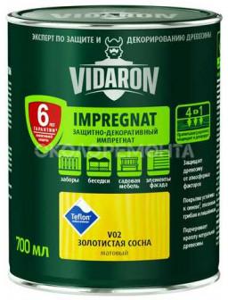 Видарон 0,7 импрегнат Золотая сосна V02