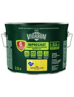 Видарон 2,5л импрегнат Золотая сосна V02