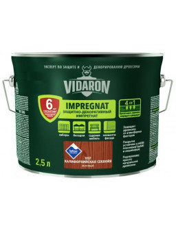 Видарон 2,5л импрегнат Калифорнийская секвойя V07